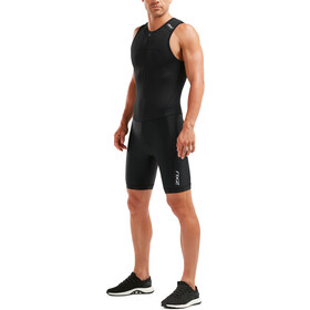 2XU Active Triathlon-puku Miehet, black/black